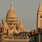 Montmartre view from the mansard