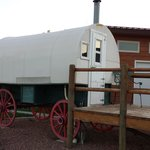 The Sheep Herder's Wagon