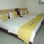 Deluxe room with 2 huge beds