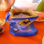 Pirâmide até na xícara de café...rs