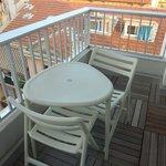 Balcony in room 601