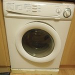 Washer and Dryer unit that took 2 hrs just to wash - very small