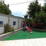 Children's corner at the pool