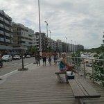 Calçadão da praia