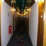 Corredor para os quartos - 1º andar