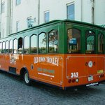 Enjoy a trolley tour of Savannah