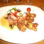 Steak de Thon, Tempura de courgettes