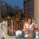DINING IN THE BALCONY