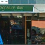 The photo that showed next to my review is NOT Signature Thai...it has no outdoor seating.