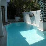 Vue d'ensemble de la piscine du Galatia