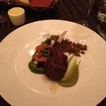 seared lamb chops