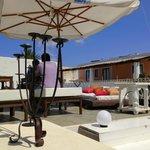 Second terrace area