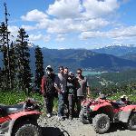 Photo opportunity mid-mountain