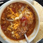 Green Chili overlooking the Vail ski trails