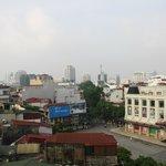 Uitzicht vanaf zevende verdieping