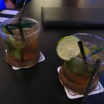 Happy hour = 2 drinks 180 bht (approx 5,75 dollars)