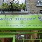 the Wild Juicery, Neals Yard, London