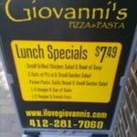 صورة فوتوغرافية لـ Giovanni's Pizza & Pasta