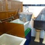 A Glasgow 'steamie', or public wash house