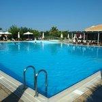 The HUGE Avithos Resort Pool