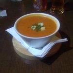 Starter: Homemade Tomato Soup