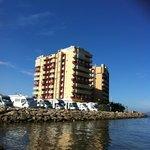 Vistas desde la orilla del Mar Menor