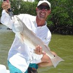 Redfish in The Everglades with Capt Glenn.