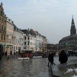 Copenhagen, proximo ao Hotel Ansgar