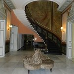 rather glamorous entrance hall
