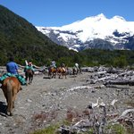Riding In Patagonia Foto