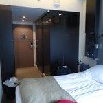 The entire room - economy = tiny