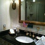 Bathroom in 4th floor king room