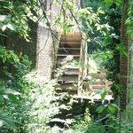 Ancien moulin dans le parc