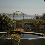 Garden, with view of Bhopal Lake beyond.