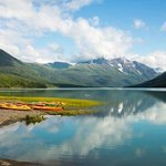 Eklutna Lake, a wonderful part very close to Anchorage.