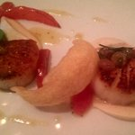 Seared Scallop Starter