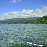 Kayaking down the coast