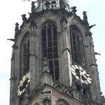 De top van de toren .
