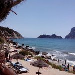 Cala d'€Hort from restaurant