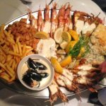 Seafood Platter - All was perfectly cooked and excellent tasting.