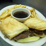 Magills French Dip with Sliced Sirloin