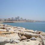 Quarteira seafront