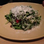 arugula and heirloom tomato salad