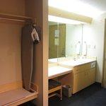 Closet & vanity area
