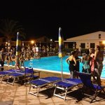 party serale in piscina