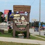 Friar Tucks sign