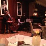 Live jazz band just feet from our table. Very relaxing atmosphere