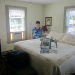 Bedroom in Gov Bradford suite