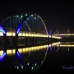 Middle bridge of Hatirjheel.