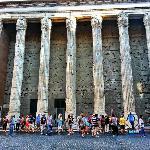Photo of Hadrian's Temple taken with TripAdvisor City Guides
